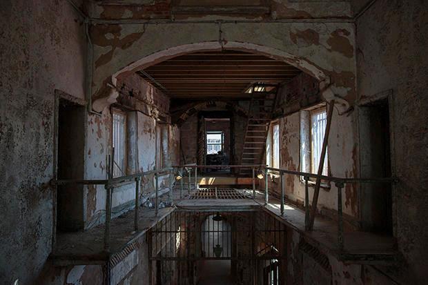 L'interno del penitenziario