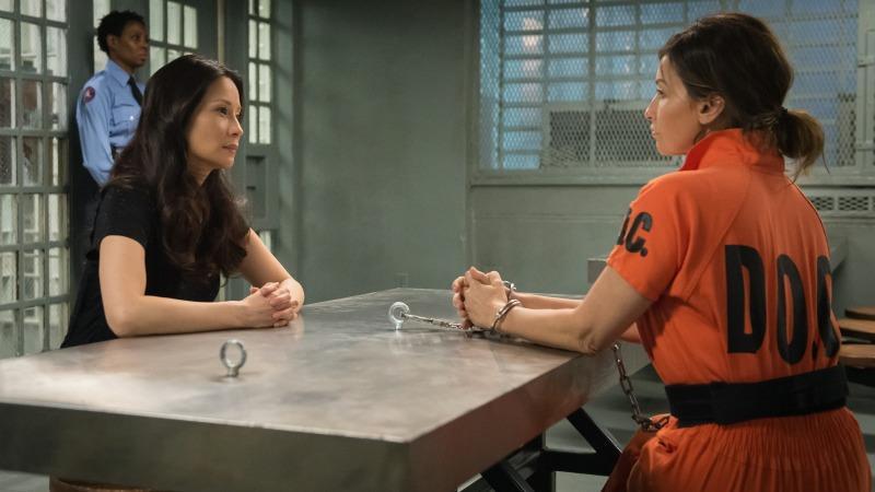 Una scena dello show con Lucy Liu