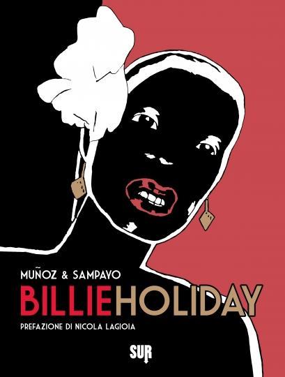 La cover del fumetto di Munoz e Sampayo dedicato a Lady Day