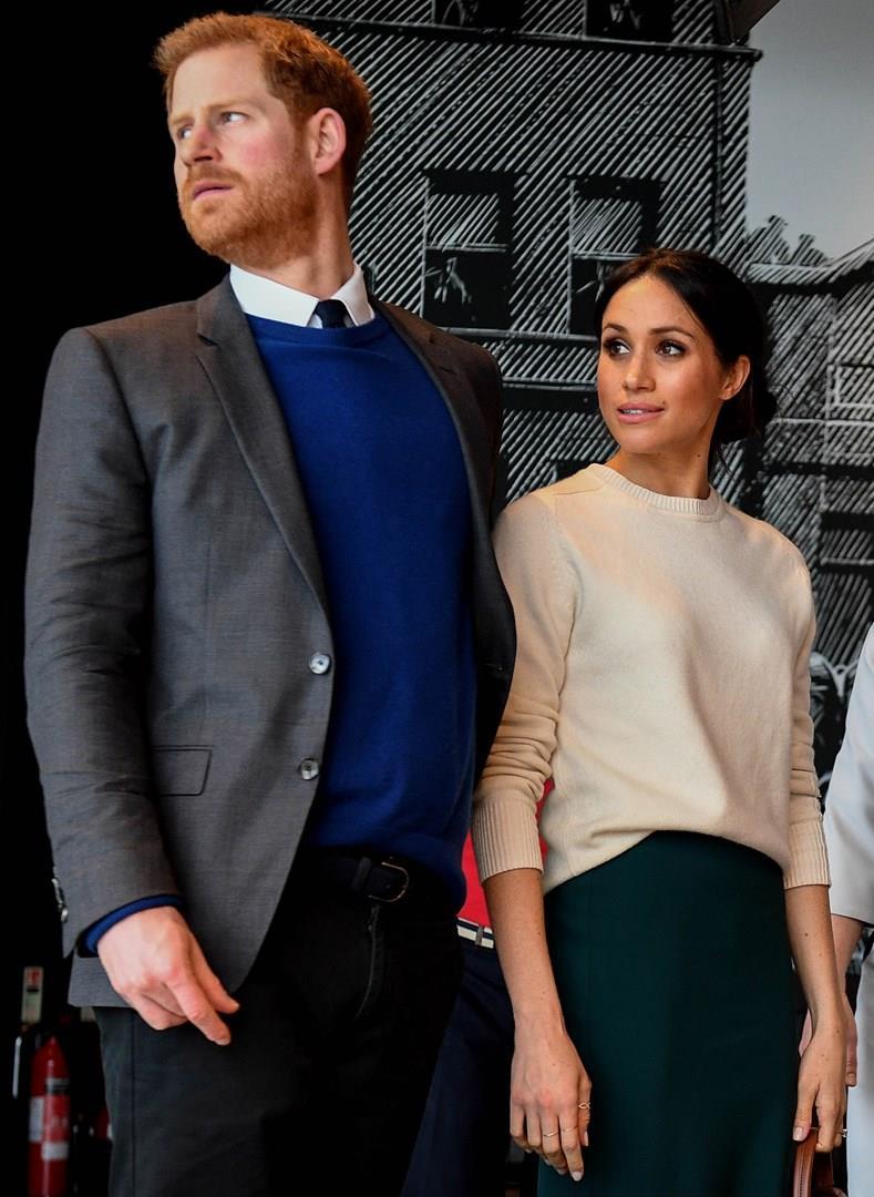 Harry e Meghan Markle a un evento ufficiale