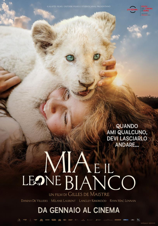 Il poster del film Mia e il leone bianco