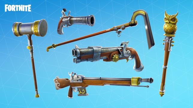 Le nuove armi di Fortnite