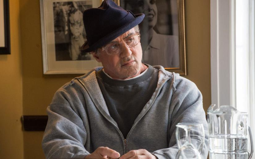 Sylvester Stallone in una scena di Creed