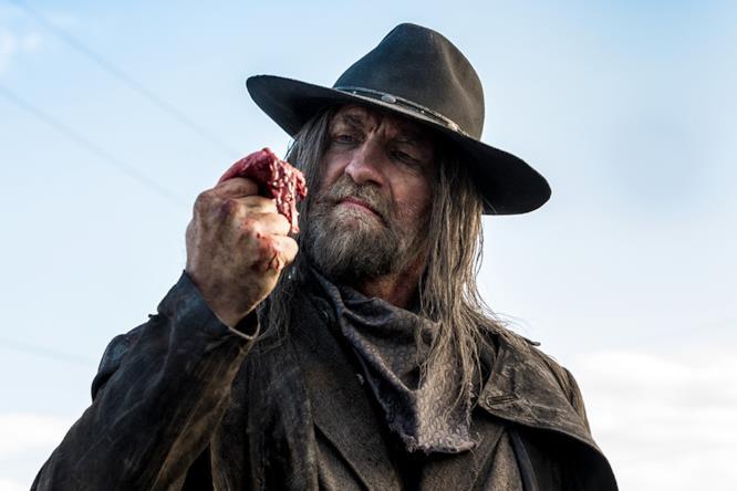 Il Santo degli Assassini sul set di Preacher 2