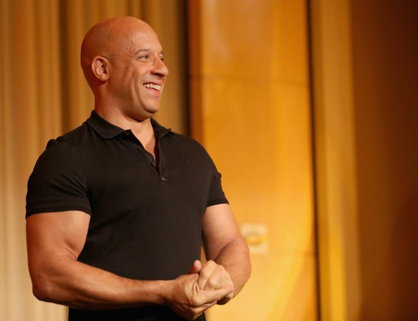 Primo piano di Vin Diesel