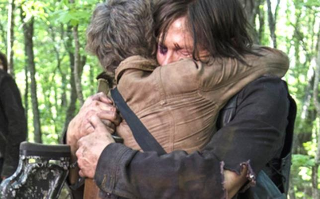 The Walking Dead: Daryl con Carol