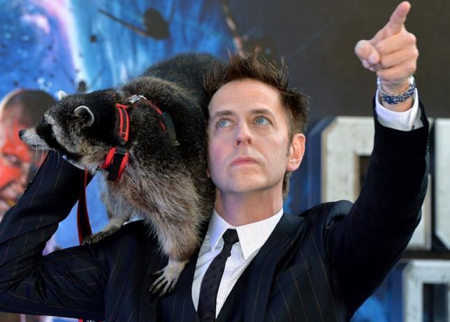 James Gunn alla premiére inglese di Guardiani della Galassia