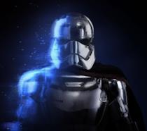 Un primo piano di Captain Phasma da Star Wars Battlefront 2