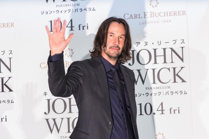 Keanu Reeves alla premiére di John Wick 3 - Parabellum