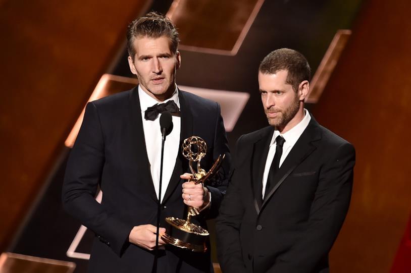 Benioff e Weiss agli Emmy Awards