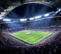 Uno stadio di FIFA 19 ricreato su PS4 Pro