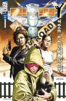 Yorick sulla copertina del volume 11 di Y: The Last Man