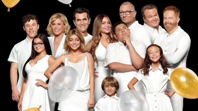Modern Family: un'immagine promozionale del cast