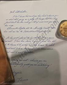 La lettera di Theseus Scamander al fratello Newt