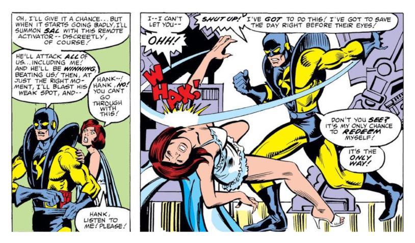 Una sequenza da The Avengers 213