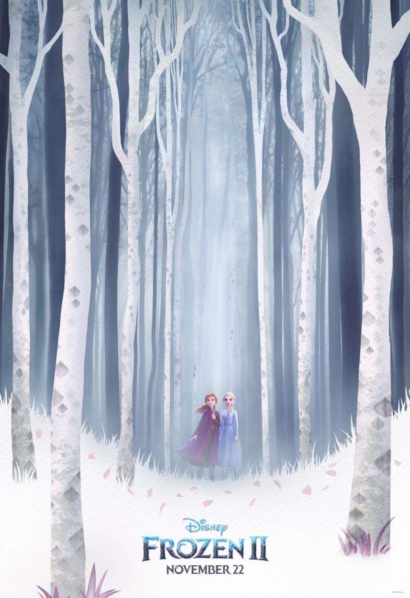 La locandina di Frozen 2