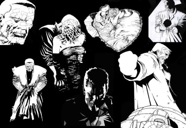 Disegni tratti dal fumetto di Frank MIller