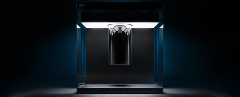 Foto del computer quantistico di IBM per uso commerciale e scientifico