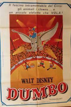 Manifesto italiano di Dumbo