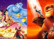 Artwork per Aladdin e Il Re Leone, protagonisti dei remaster di Disney
