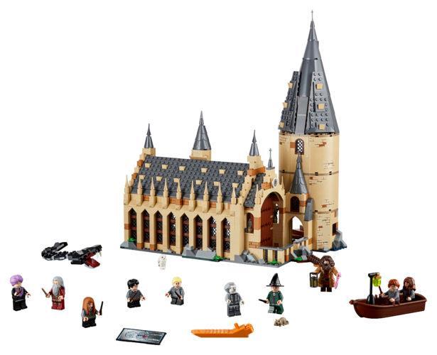 Le 10 Minifigure incluse nel nuovo set di LEGO dedicato al castello di Hogwarts