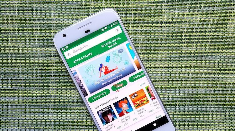 Il Play Store di Google
