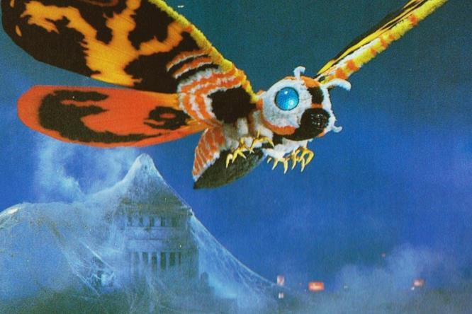 Mothra del film Godzilla contro Mothra del 1992