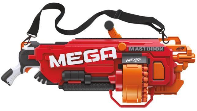 Mega Mastodon, il blaster per chi ama l'azione diretta