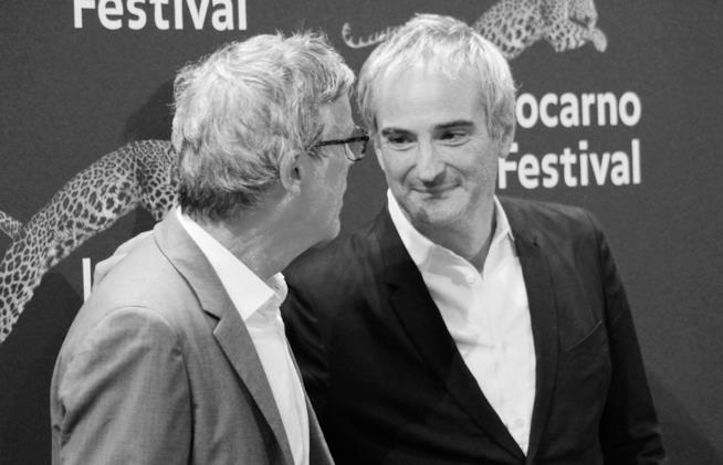 Todd Haynes e Olivier Assayas sul red carpet di Locarno 70