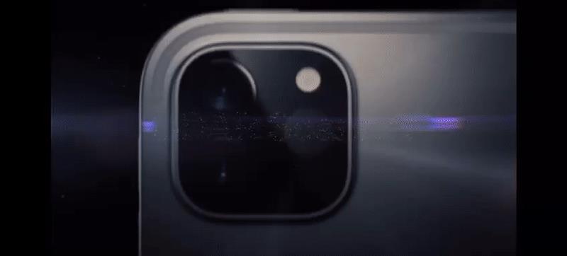 Lo scanner LiDAR del nuovo iPad Pro in azione