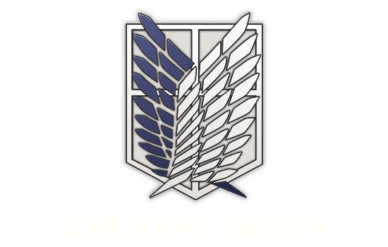 Simbolo della Legione Esplorativa di Attack on Titan