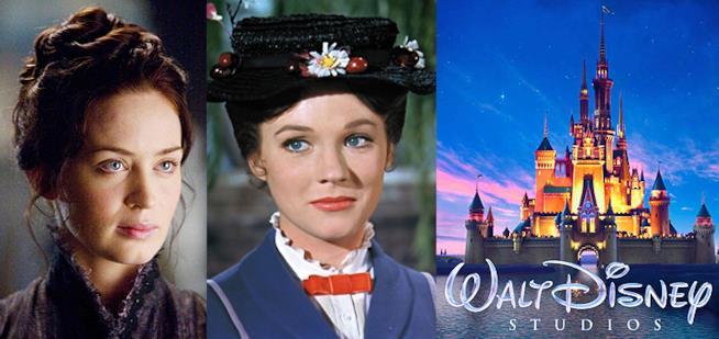 Julie Andrews a confronto con Emily Blunt