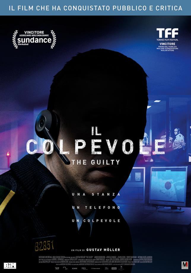 La locandina del thriller Il Colpevole - The Guilty