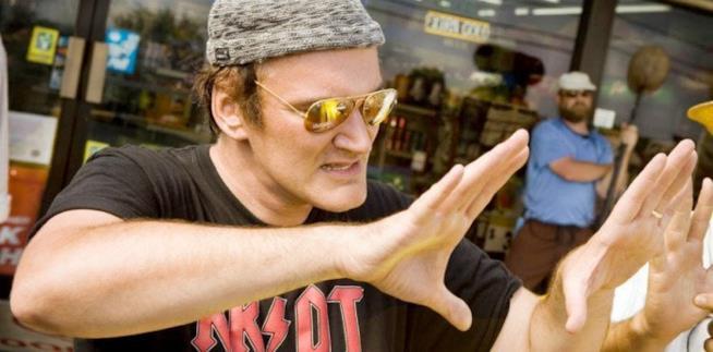 Tarantino sul set