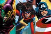 Goblin, Ms. Marvel e Capitan America