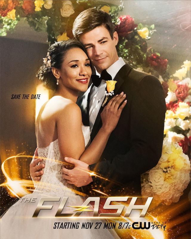 Le nozze fra Barry e Iris