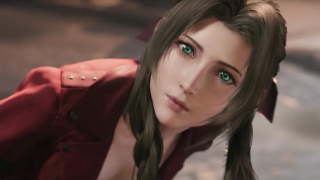 Aerith nel remake di Final Fantasy VII