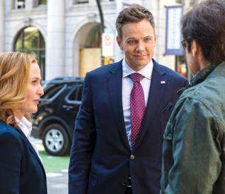 X-Files la miniserie: il cast sul set