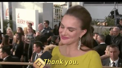 Natalie Portman alle prese con un'intervista