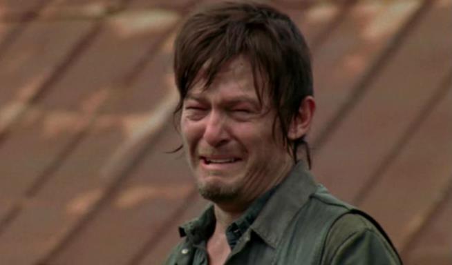 Daryl dopo il primo episodio di The Walking Dead 7