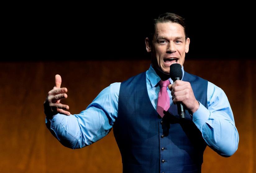 John Cena durante una conferenza