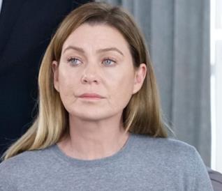 La protagonista Meredith nel 350° episodio del medical drama