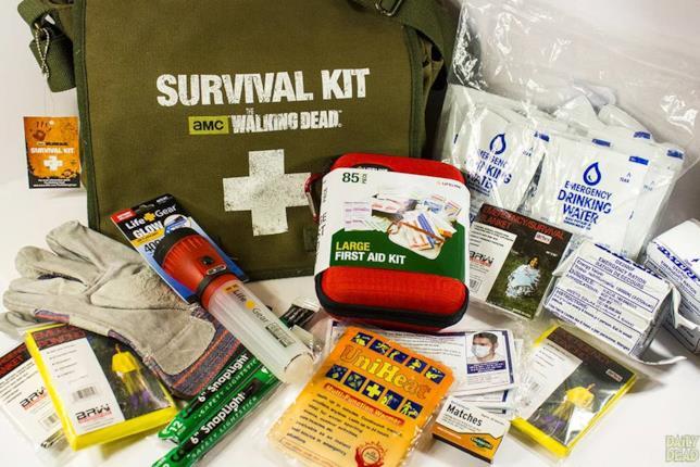 Il kit di sopravvivenza di The Walking Dead