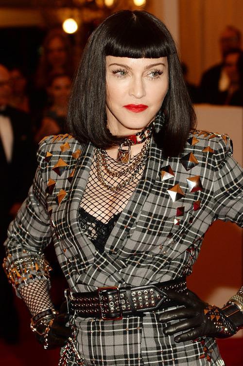 Il look punk di Madonna al MET Gala 2014