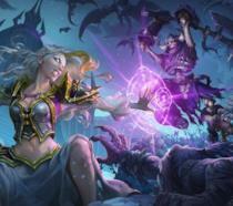 Un'immagine promozionale di Hearthstone: Cavalieri del Trono di Ghiaccio