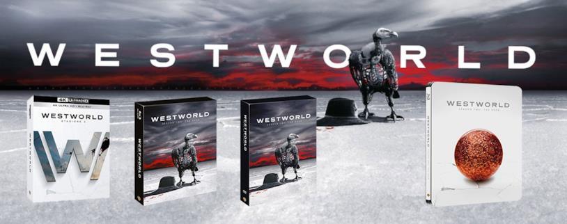 Westworld: i cofanetti Home Video della stagione 2