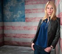 Claire Danes nei panni di Carrie Mathison in uno scatto promozionale di Homeland