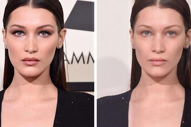 """Anche le modelle sono più """"alla nostra portata"""" senza make-up"""