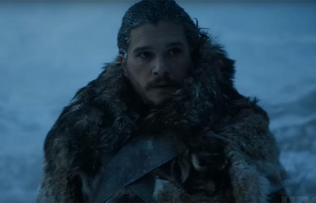 Jon Snow in Game of Thrones 7