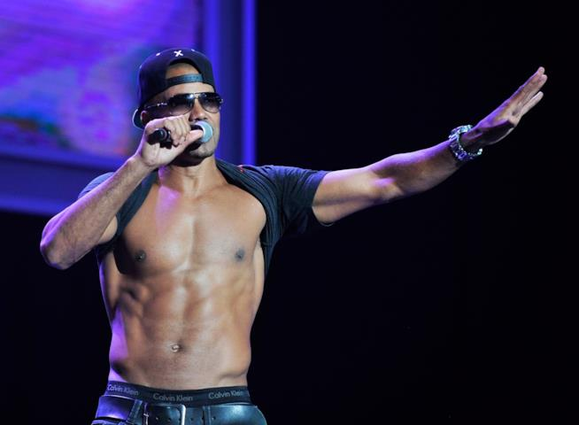 Il muscoloso Shemar Moore